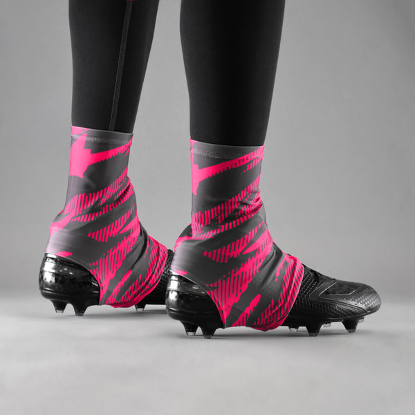 Tryton Ultra Metal Pink Spats / Cleat Covers