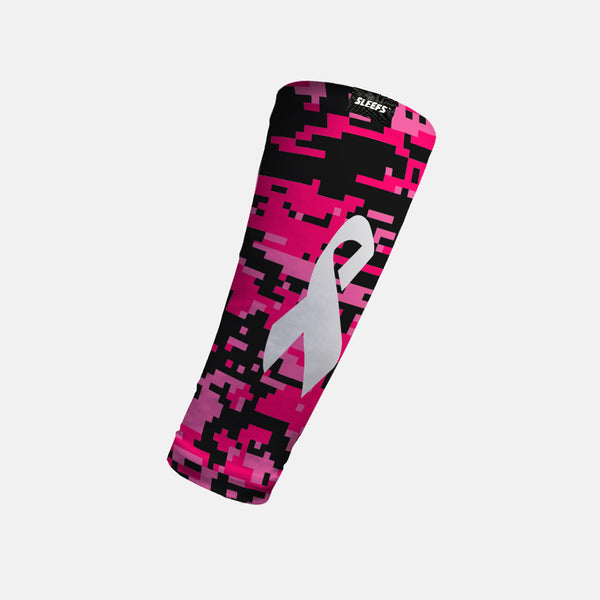 Pink Digi Forearm Compression Sleeve