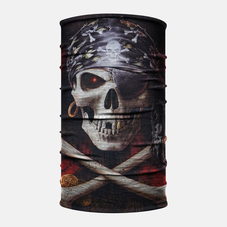 Pirate Jolly Roger Neck Gaiter