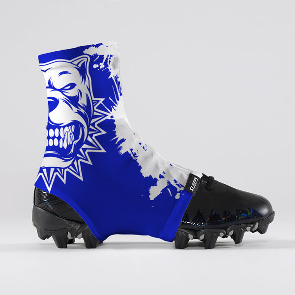 Pitbull Blue Spats / Cleat Covers