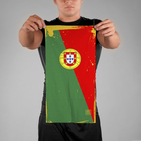 Portugal Brushed Flag Neck Gaiter
