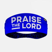 Praise the Lord Blue Double Sided Headband