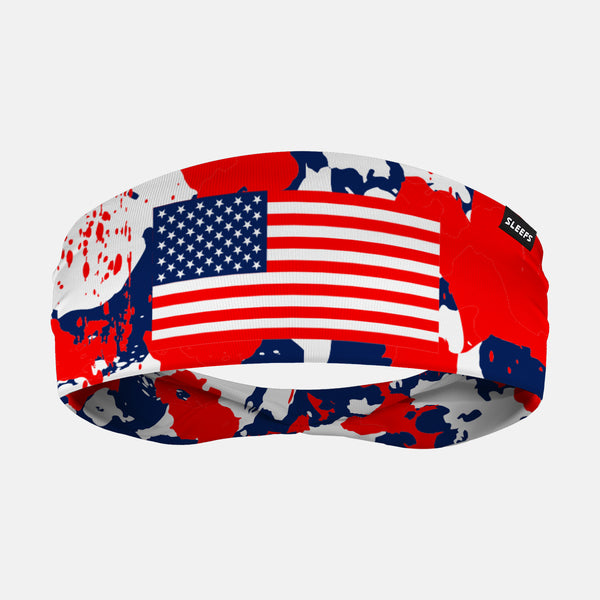 Rusty Pattern USA Headband