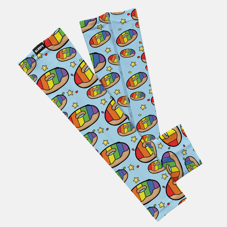 Rainbow Donuts Kids Arm Sleeve