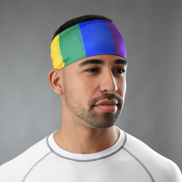 Rainbow Wide Headband