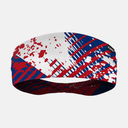 Aerial Blue Red White Headband