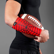 Red Web Pattern Forearm Compression Sleeve