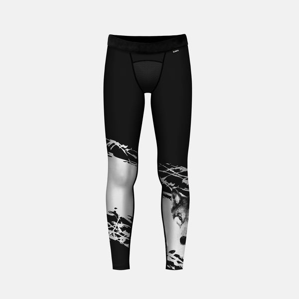 Ripped Wolf Tights for Kids