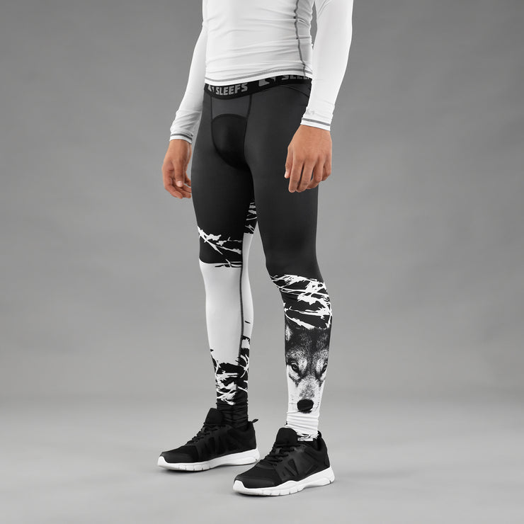 Ripped Wolf Tights for men