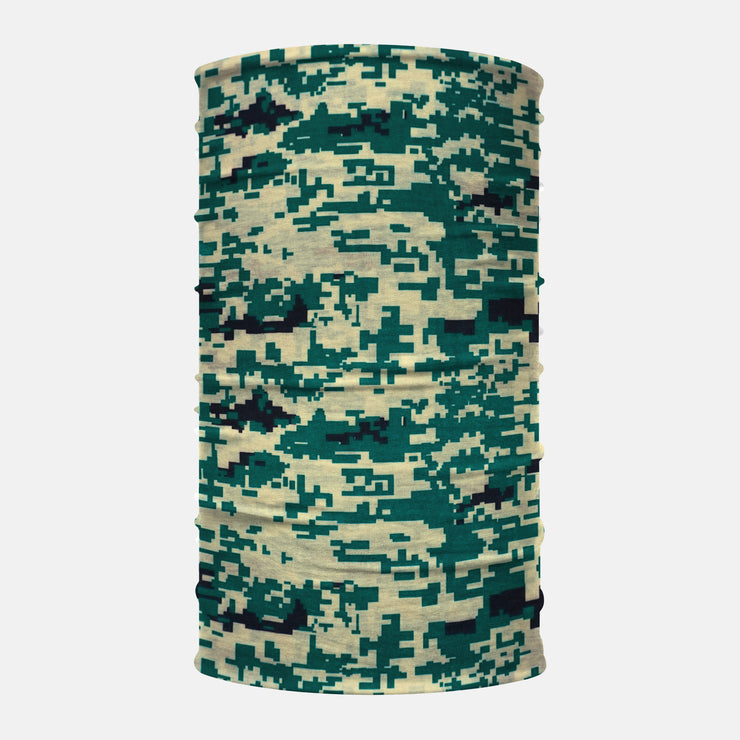 Sand Green Digital Camo Neck Gaiter