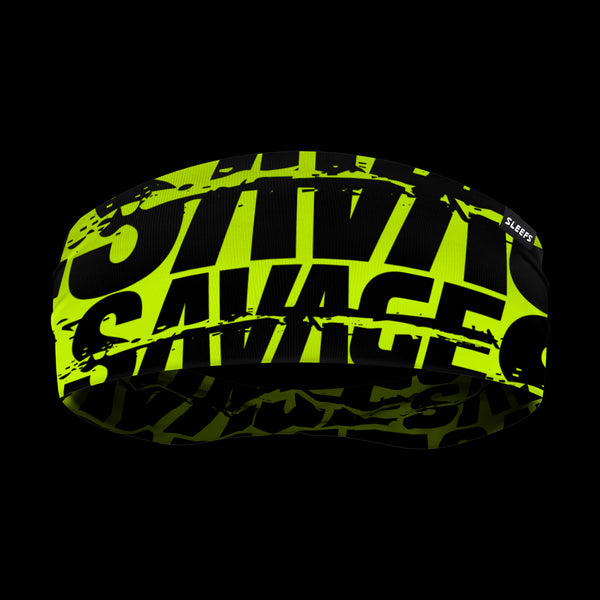 Savage Chroma Safety Yellow Headband