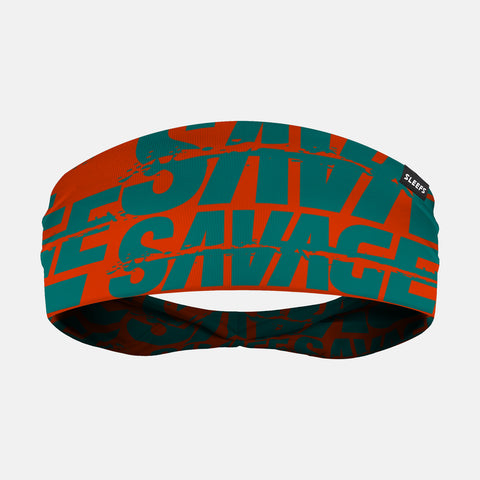 Savage Chroma Teal Orange Headband