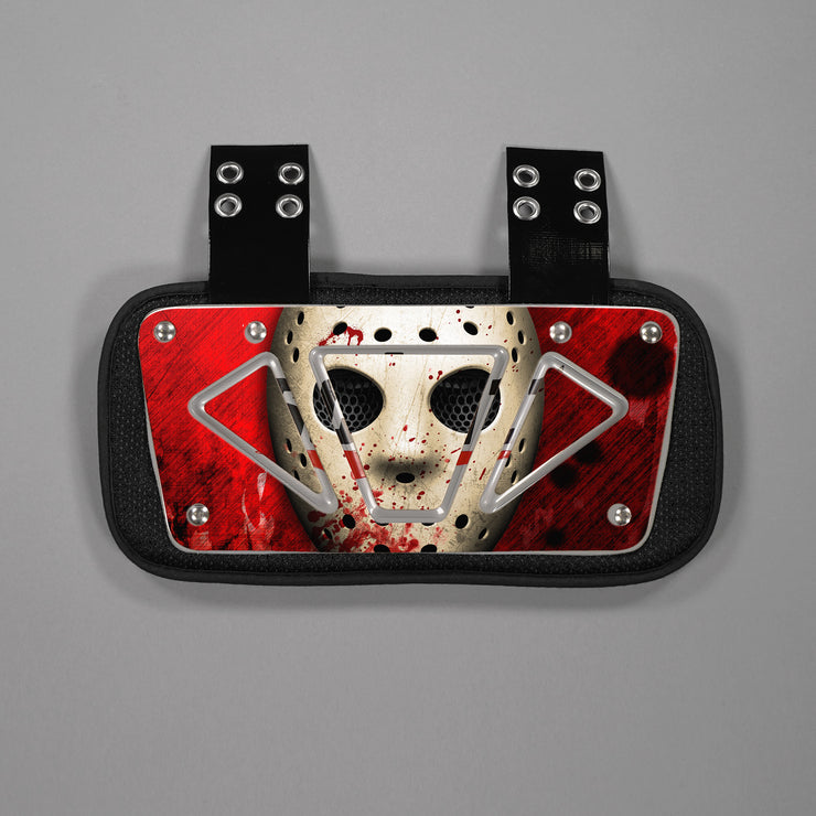 Hockey Mask Sticker for Back Plate