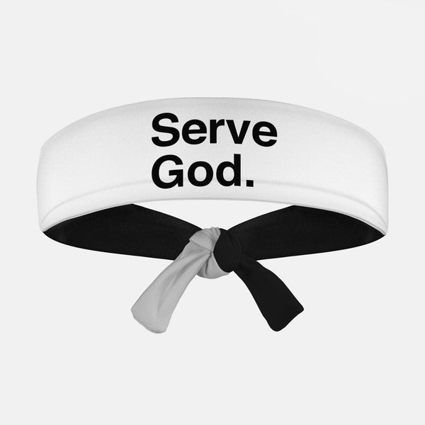 Serve God Tie Headband