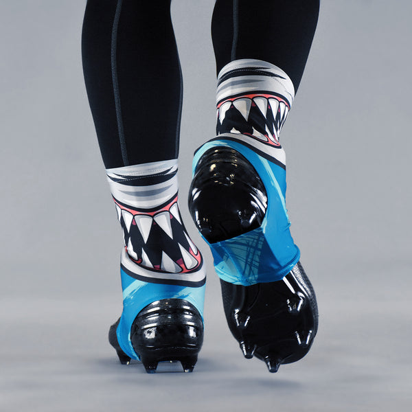 Shark Mask Spats / Cleat Covers