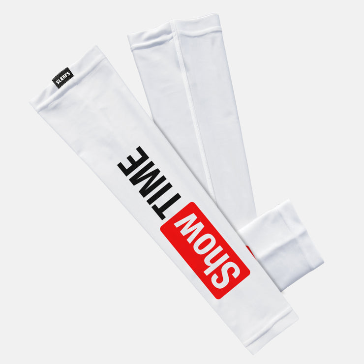 Showtime White Kids Arm Sleeve