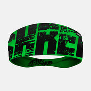 Shred Green Double Sided Headband