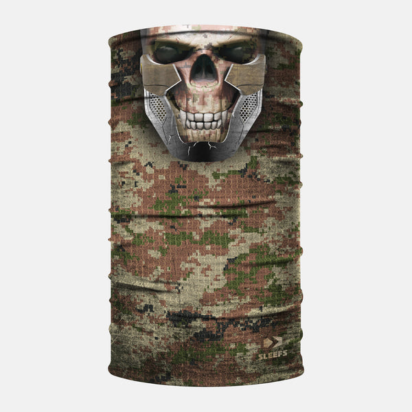 Skull X Warfare Camo Neck Gaiter