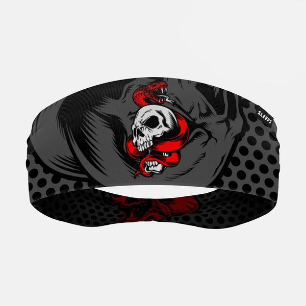 Skull and Snake Tactical Double Sided Headband
