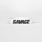 Sleefs Savage White Kids Motivational Wristband