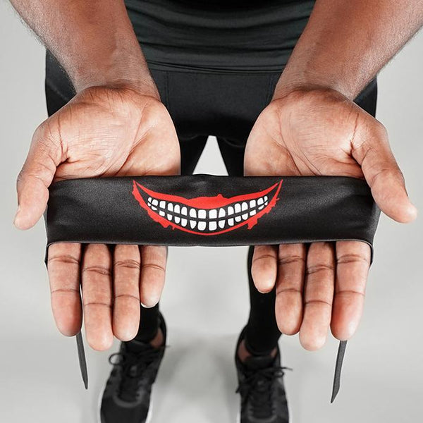 Smile Black Kids Tie Headband