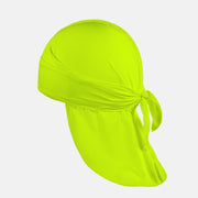 Solid Solid Safety Yellow Durag