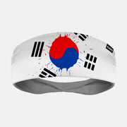 South Korea Brushed Flag Headband