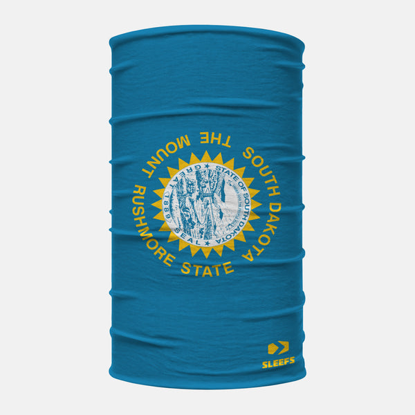 South Dakota State Flag Neck Gaiter