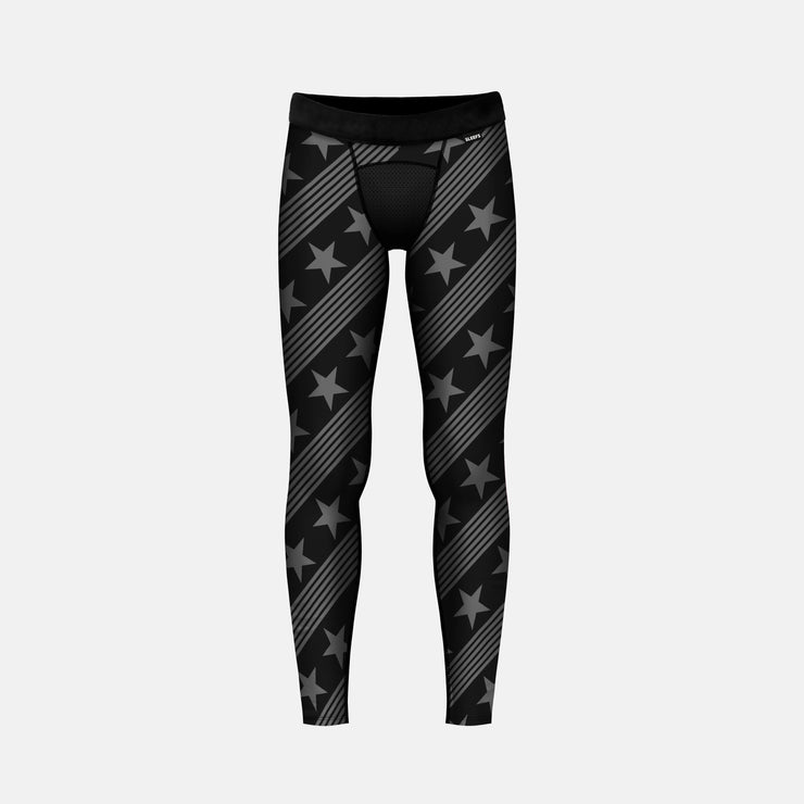 Stars and Lines Tactical Tights for Kids