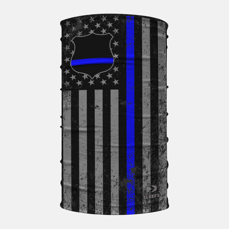 Tactical USA Thin Blue Line Patch Neck Gaiter