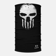 Tentacles Black White Skull Neck Gaiter