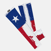 Texas State Flag Baseball Kids Arm Sleeve