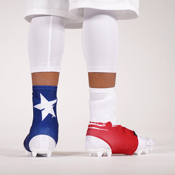Texas State Flag Spats / Cleat Covers