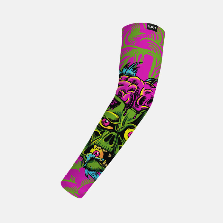 The three-eyed Zombie Kids Arm Sleeve