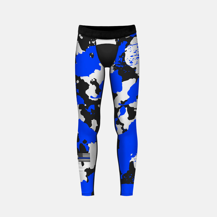 Thin Blue Line Corrosive Tights for kids