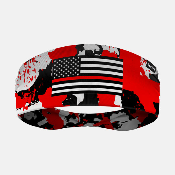 Thin Red Line Corrosive Headband