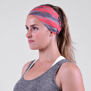 Tryton Ultra Venetian Red Gray Headband