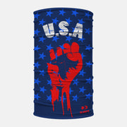 USA Red Fist Neck Gaiter