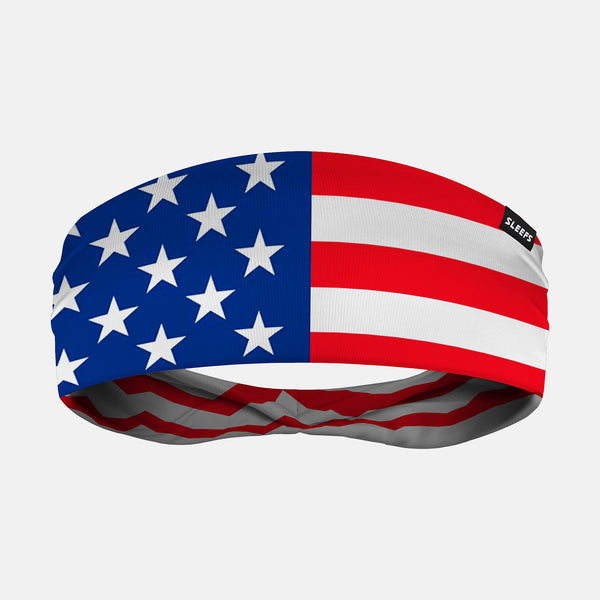 USA America Flag Headband