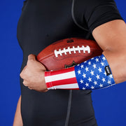 USA American Flag Forearm Compression Sleeve