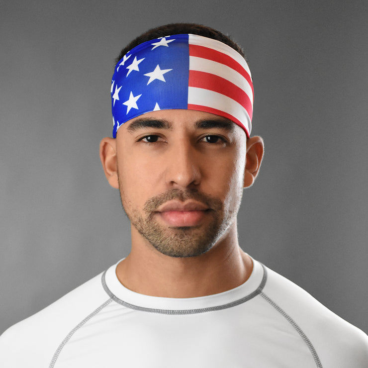 USA American Flag Headband