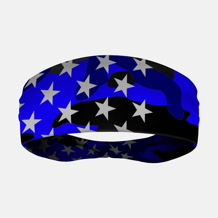USA Original Camo Blue Headband