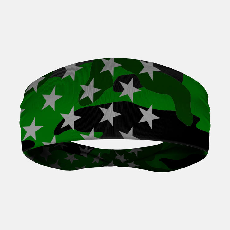 USA Original Camo Green Headband
