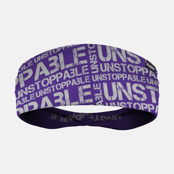 Unstoppable Purple Headband