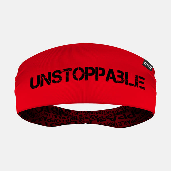 Unstoppable Red Headband