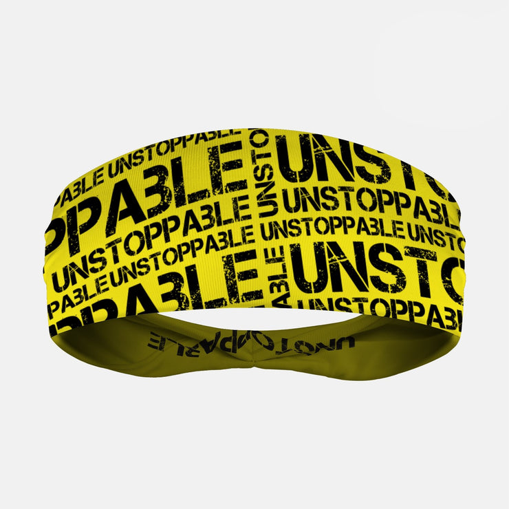 Unstoppable Yellow Headband