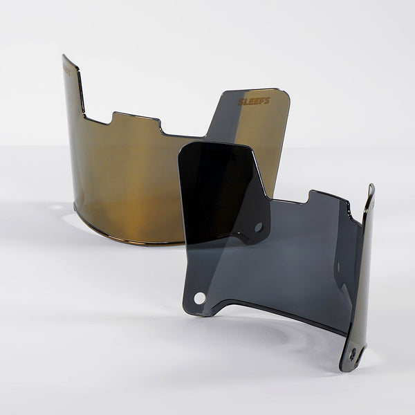 Smokey Gold SLEEFS X Helmet Eye-Shield Color Tinted Visor