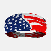 Watercolor USA Flag Headband