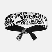 Waves Kids Tie Headband