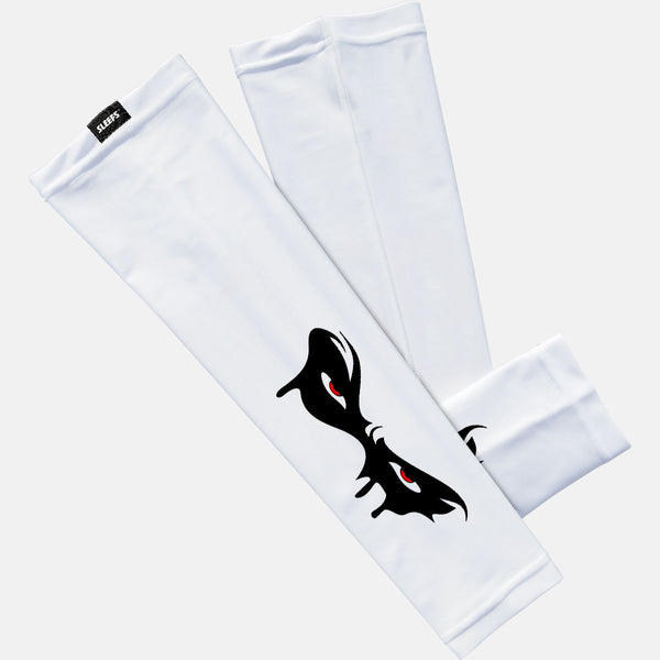 Black Mask White Arm Sleeve